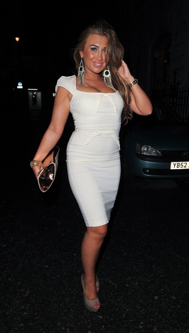 Lauren Goodger's weight loss