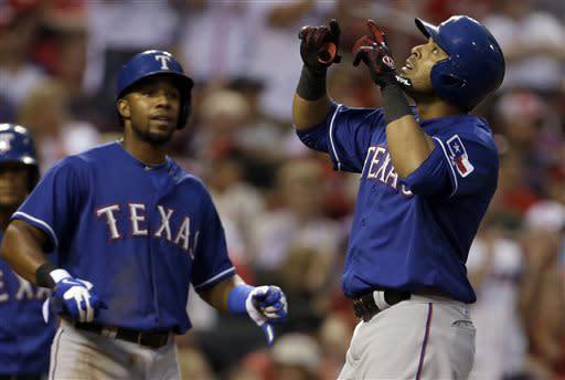 Cruz gets big hit again, Rangers beat Cardinals