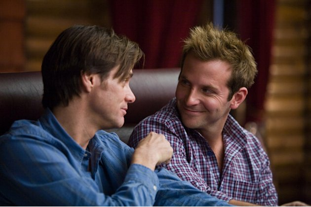 Jim Carrey Bradley Cooper Yes Man Production Stills Warner Bros. 2008