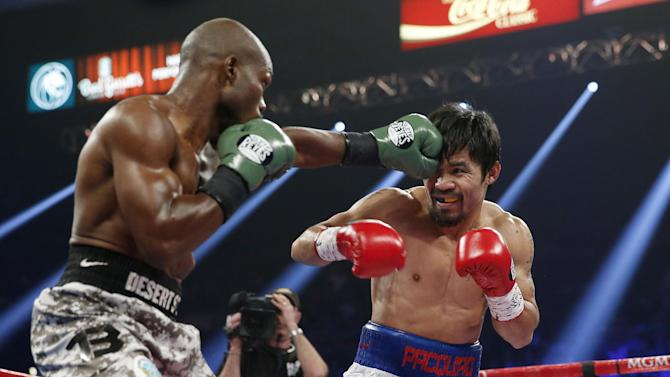 Pacquiao beats Bradley by decision in rematch