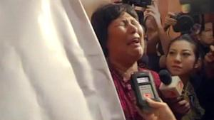 Relatives of Chinese passengers on board missing Malaysian…