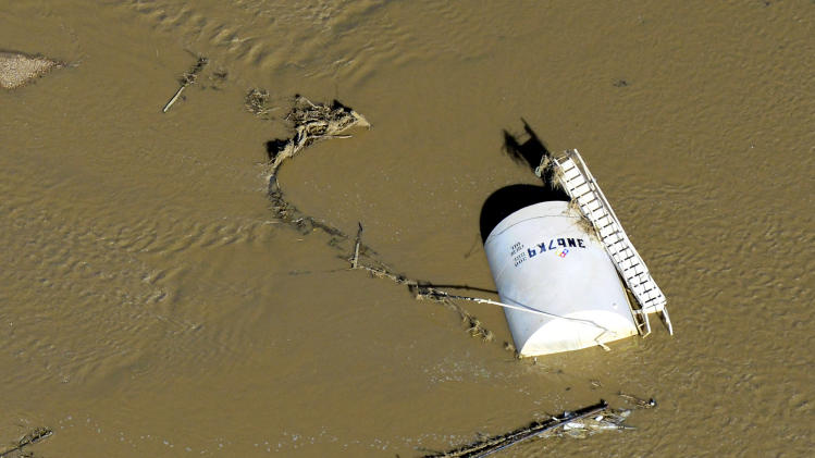 New Colo. oil spills found as flood delays cleanup
