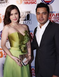 Sunshine Cruz and Cesar Montano (NPPA Images)