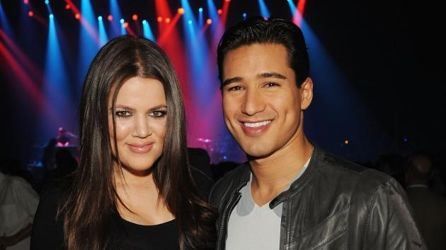 Khloe Kardashian and Mario Lopez attend the Kid Rock concert hosted by SWAGG at Hard Rock Hotel and Casino on January 7, 2010 in Las Vegas -- WireImage