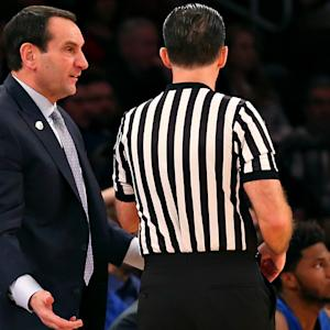 LA Clippers Chris Paul & J.J. Redick Congratulate Coach K