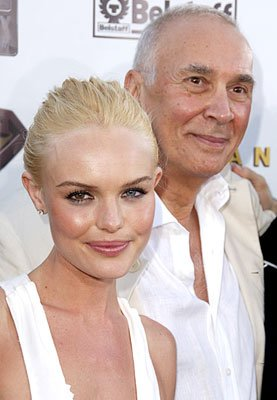 Premiere: Kate Bosworth and Frank Langella at the Westwood premiere of Warner Bros. Pictures' Superman Returns - 6/21/2006