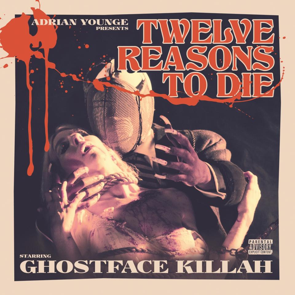 "This CD cover image released by Soul Temple Entertainment shows ""Twelve Reasons to Die,"" by Ghostface Killah and Adrian Younge. (AP Photo/Soul Temple Entertainment)"
