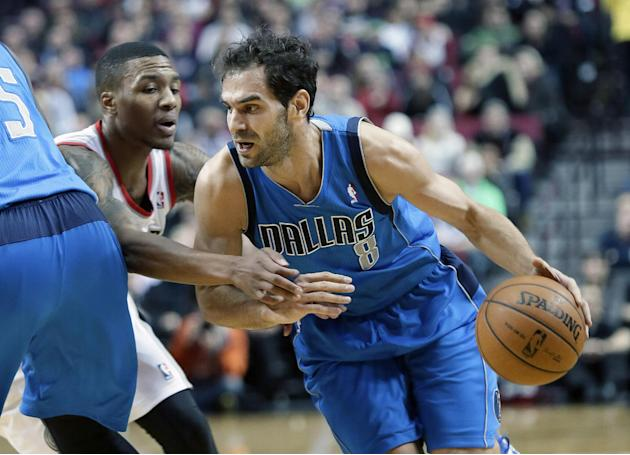 Ellis hits winner and Mavs beat Blazers 108-106