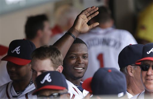 Justin Upton hits mammoth HR, Braves beat Miami