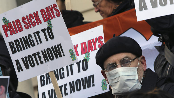 Small business squabbles over paid sick time laws