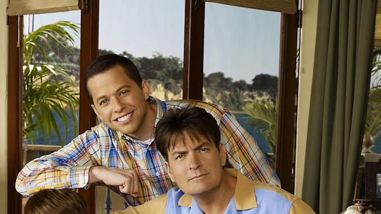 "The cast of ""Two and a Half Men."""