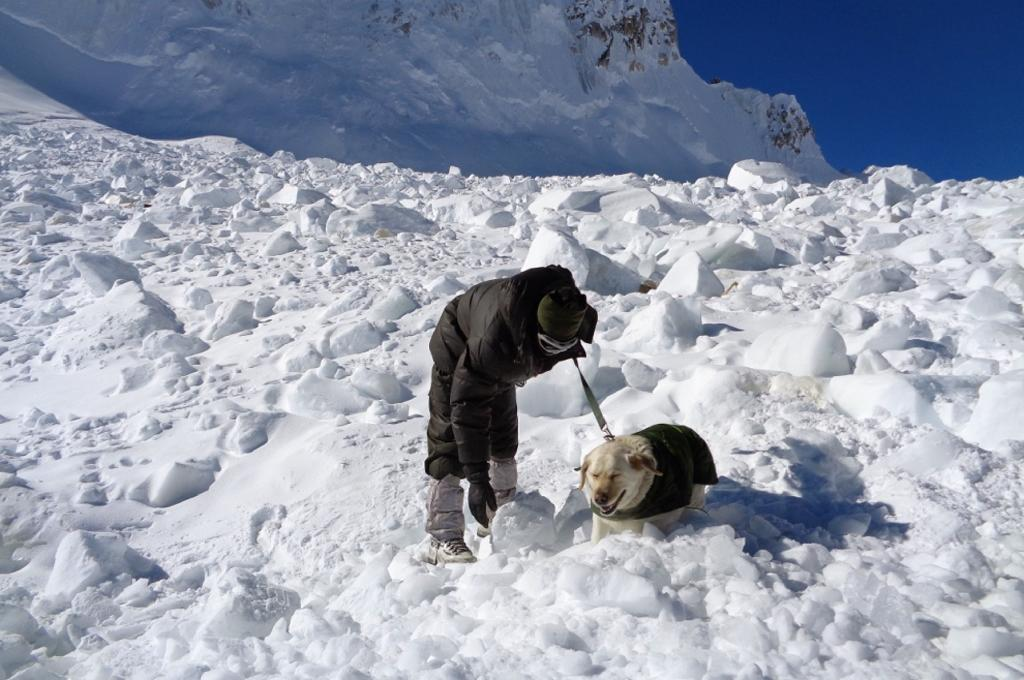 Indian avalanche soldier dies three days after rescue