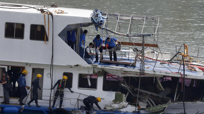 Outrage over human errors in Hong Kong boat crash