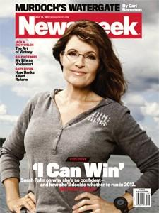 Did Sarah Palin Use Newsweek for Product Placement?