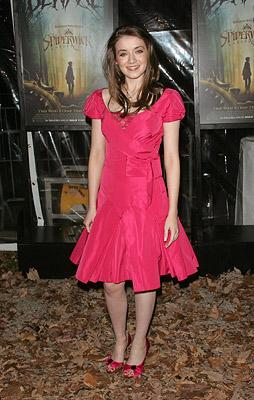 Sarah Bolger at the New York City premiere of Paramount Pictures' The Spiderwick Chronicles