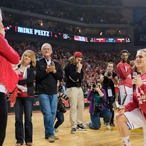 Nebraska-Wisconsin thriller began with on-court marriage proposal