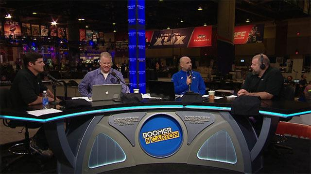 Boomer & Carton: Clint Bruce and Jeremy Staat talk football and the military
