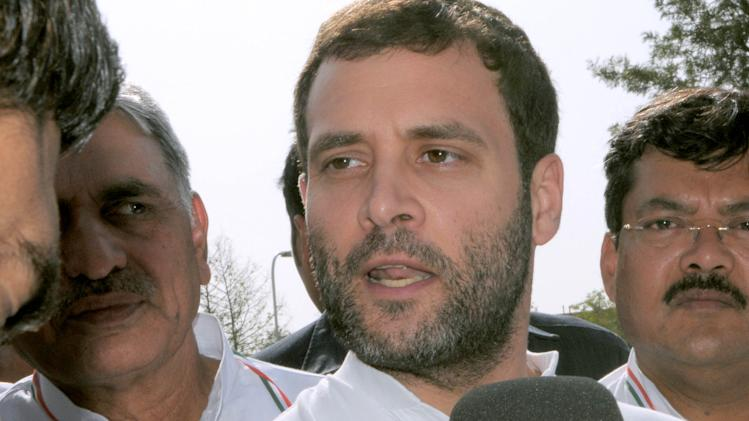 Rahul Gandhi Holds Feedback Meetings In Jaipur