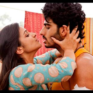 Arjun and Parineeti's sizzling chemistry