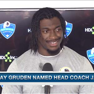 Washington Redskins quarterback Robert Griffin III: 'I cherish being asked to do more'