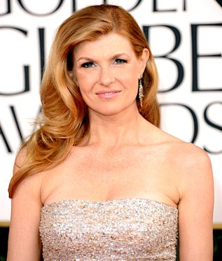 Connie Britton at this year's Golden Globe Awards show o