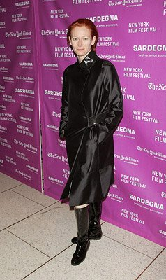 Tilda Swinton at the New York Film Festival premiere of Fox Searchlight's The Darjeeling Limited