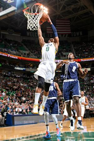 Jefferson helps Jazz cool off Thunder 109-94