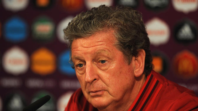 England Training and Press Conference - Group D: UEFA EURO 2012
