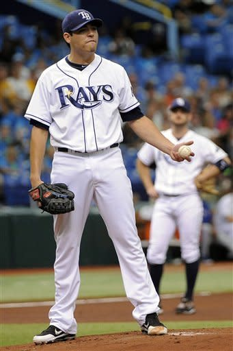 Moore sharp, Rays finish 3-game sweep of Toronto