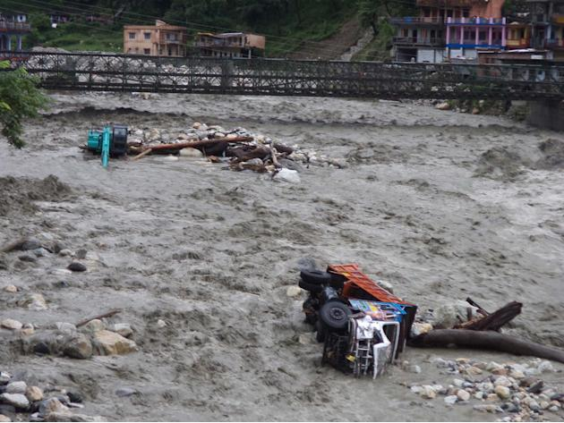 Heavy Rains, Landslides Claims  Eleven  Lives In Uttrakhand