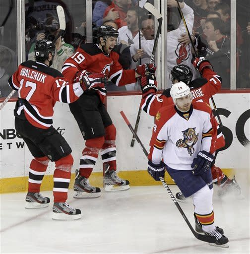 Travis Zajac's goal in overtime forces Game 7
