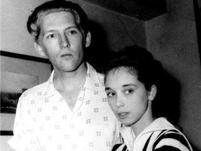 8. Jerry Lee Lewis and Myra Brown