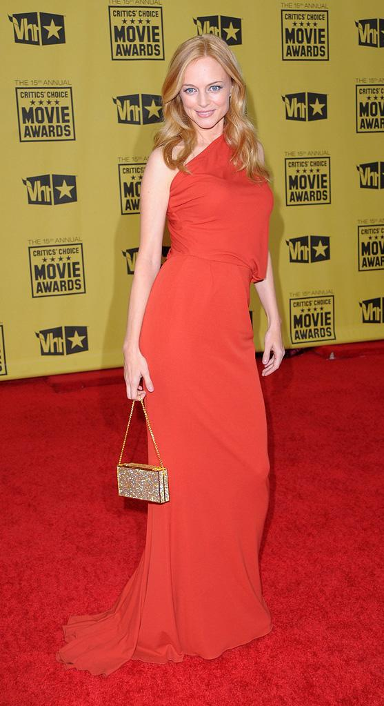 15th Annual Critic's Choice Awards 2010 Heather Graham