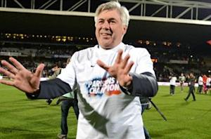 'No champagne yet, I'm still able to speak!' - Ancelotti
