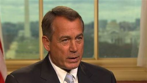 Boehner: We've Run Out of …