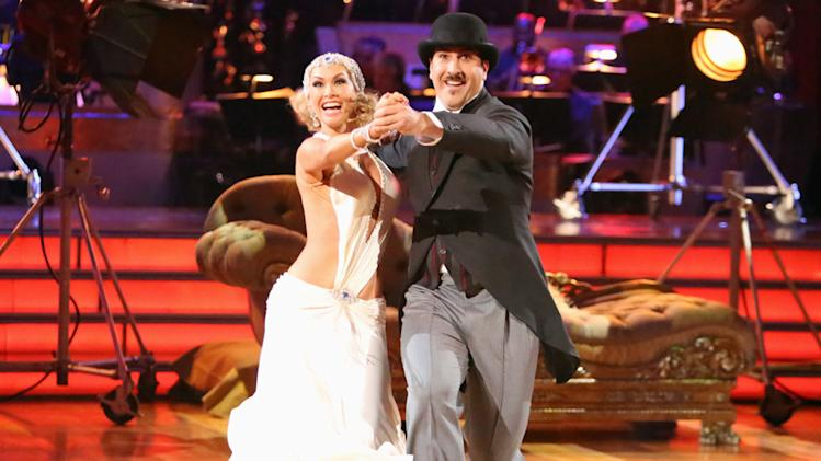 Kym Johnson and Joey Fatone (10/1/12)
