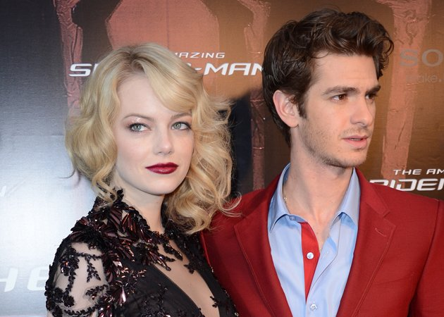 emma stone andrew garfield
