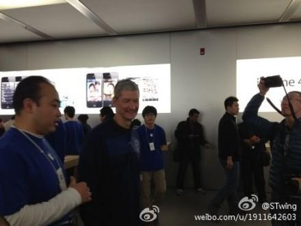 What's Tim Cook Doing in China?
