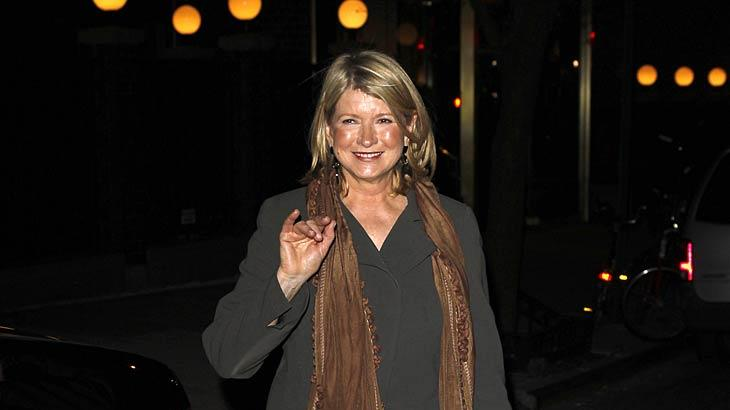 Martha Stewart Private Dinner