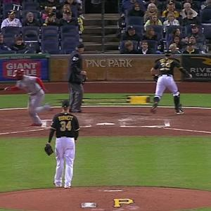 Cervelli, Morse finish strikeout