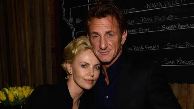 Charlize Theron & Sean Penn -- Getty Images