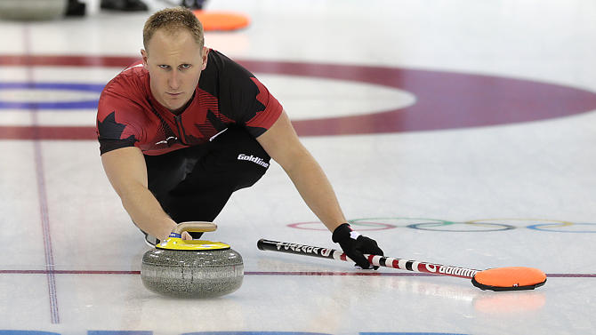 Canada makes stuttering start in men's curling