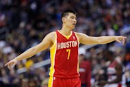 Jeremy Lin of the Houston Rockets at Verizon Center on February 23, 2013 in Washington. Asian-American NBA star Lin and the Houston Rockets will face the Indiana Pacers in a pre-season game next October in the Philippines, according to a report there on Monday