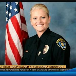 SDPD Officer hospitalized after deadly shootout