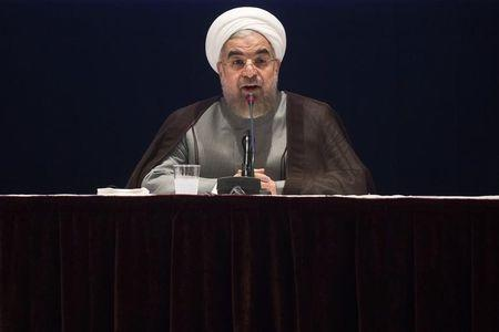 Rouhani accuses Iranian hardliners of 'cheering on' other side in atom talks
