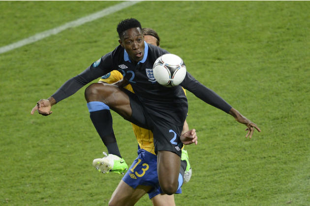 TOPSHOTS  English Forward Dany Welbeck Jumps AFP/Getty Images