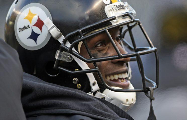 Somber Antonio Brown faces the media music over his now infamous video