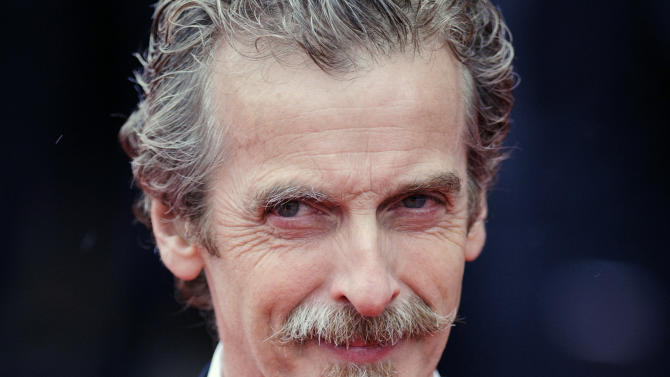 """FILE- Glasgow-born actor and Oscar winner Peter Capaldi, as he appeared in London in this file photo dated May 12, 2013. Peter Capaldi is named late Sunday Aug. 4, 2013, as the next lead star for the long-running British science fiction TV series """"Doctor Who."""" (AP Photo / Dominic Lipinski, PA, FILE) UNITED KINGDOM OUT - NO SALES - NO ARCHIVES"""