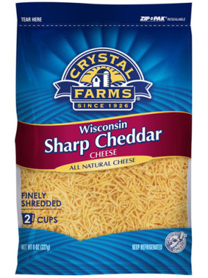 Crystal Farms Wisconsin Sharp Cheese