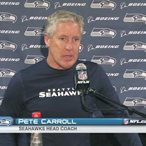 Seahawks postgame press conference